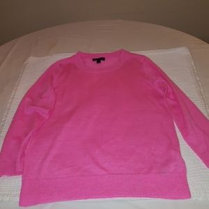 J.Crew merino wool sweater pink